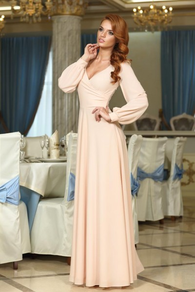 вечернее-свадебное платье фото